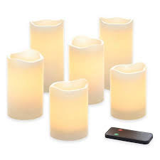 Flameless-Pillar-Candles-with-remote-control